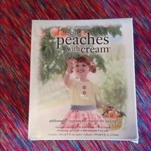 Philosophy Peaches With Cream set